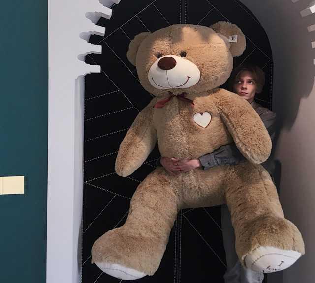 Продам Большой плюшевый медведь 120, 160, 190см