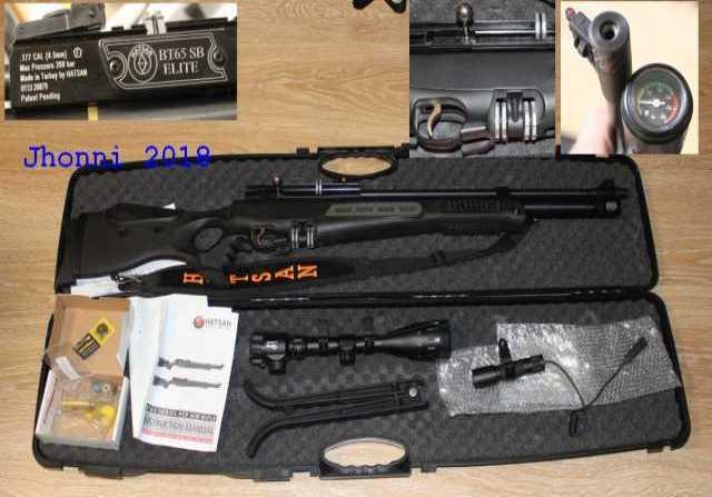Продам винтовка Hatsan BT65 SB Elite 4.5mm