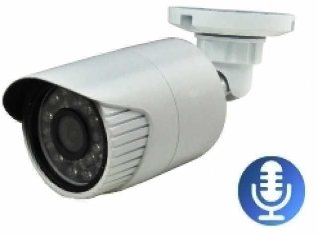 Продам Уличную IP камеру 1MPix  аудио
