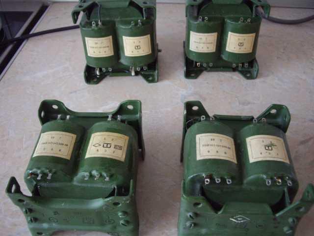 Продам: 4 мощных трансформатора