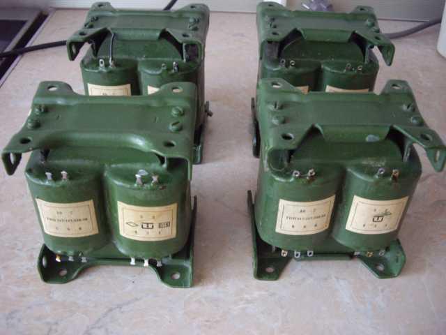 Продам: 4 мощных трансформатора тпп317-127-220-5