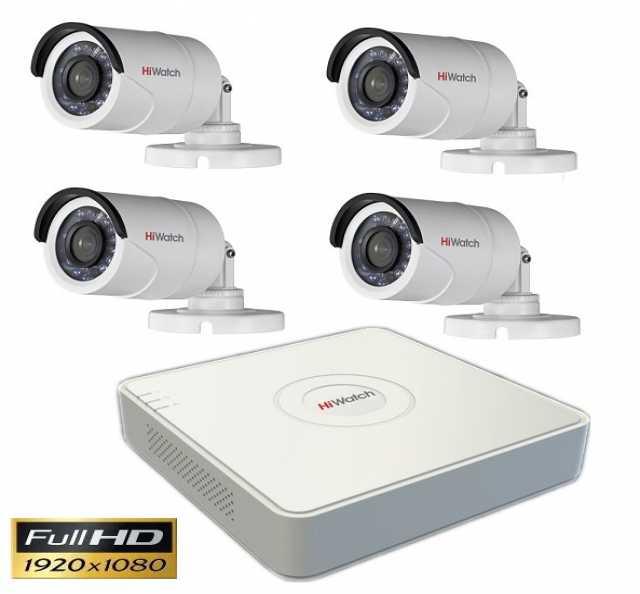 Продам FULL HD Комплект из 4 уличных камер