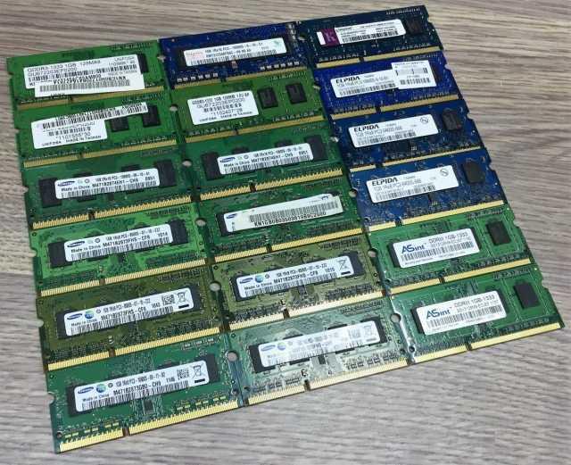 Продам: Оперативная память So-Dimm DDR3 1Gb