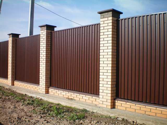 Предложение: Забор строительство все виды.