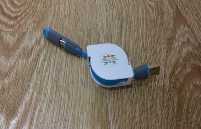 Продам Зарядный кабель 2 в 1