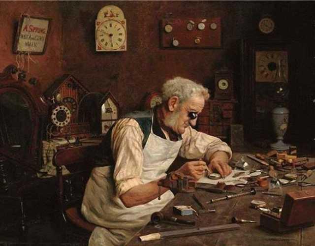 Предложение: Ремонт и реставрация антикварных часов