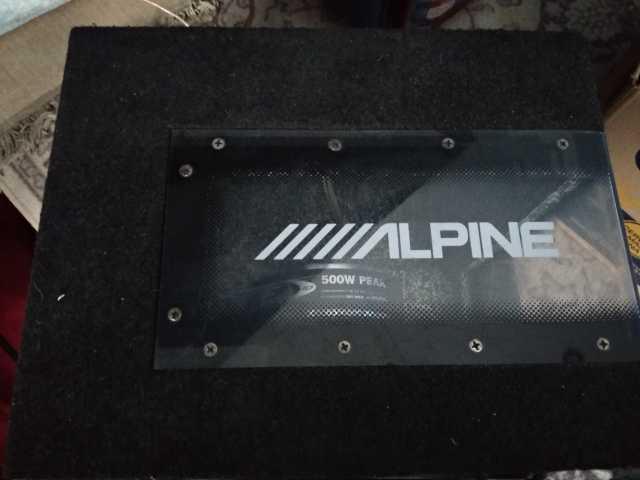 Продам: Сабвуфер Alpine SBE-1043BR