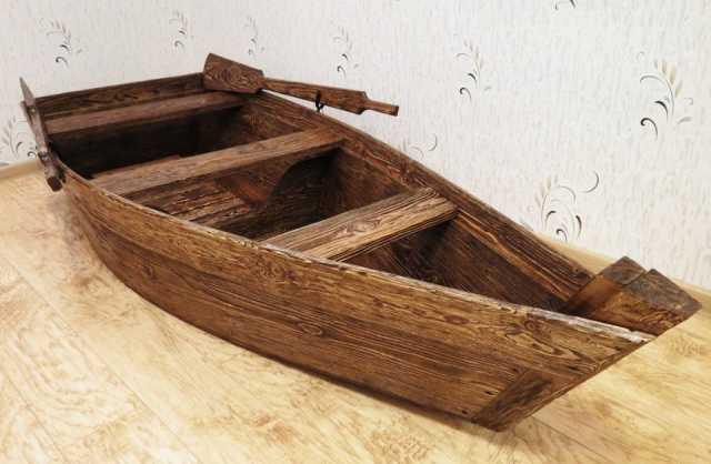 Продам Лодка декоративная для интерьера и эксте