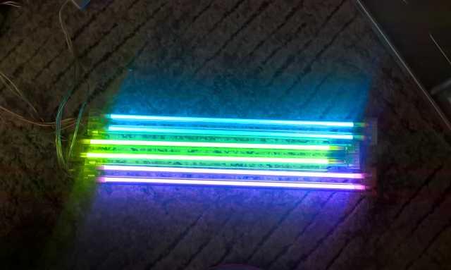 Продам Комплект подсветки для ПК.