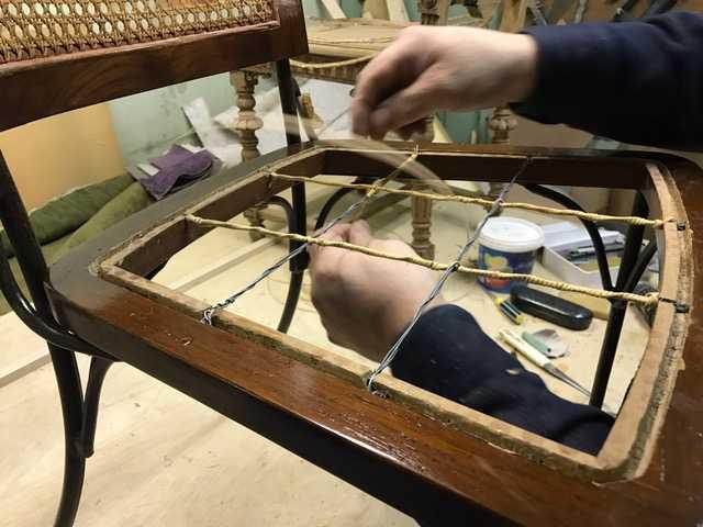 Предложение: ремонт садовой мебели из ротанга