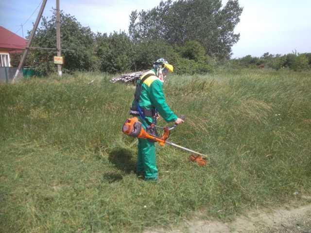 Предложение: Покос травы, благо-тво участков Демонтаж