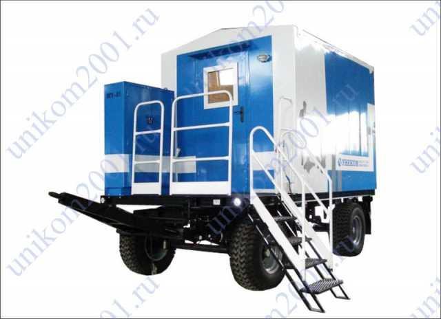 Продам передвижная парогенераторная установка