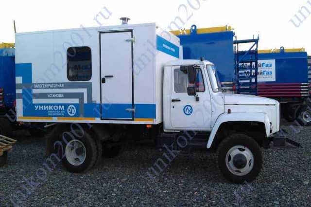 Продам мобильная парогенераторная установка