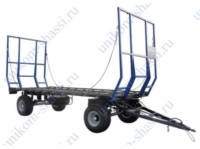 Продам прицеп тракторный для перевозки рулонов