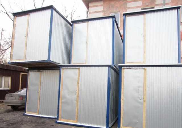 Продам Бытовки /Блок контейнер Двойное утеплени