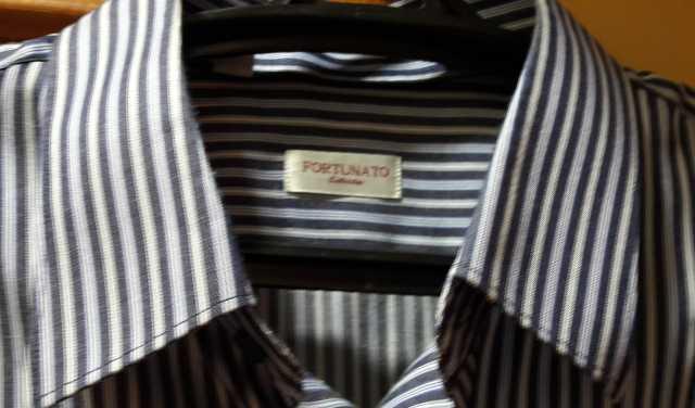 Продам мужская рубашка в полоску