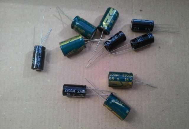 Продам Конденсаторы электролитические