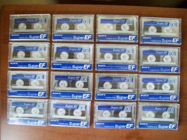 """Продам: Аудиокассеты """"Sony Super EF 90 """"(Япония"""