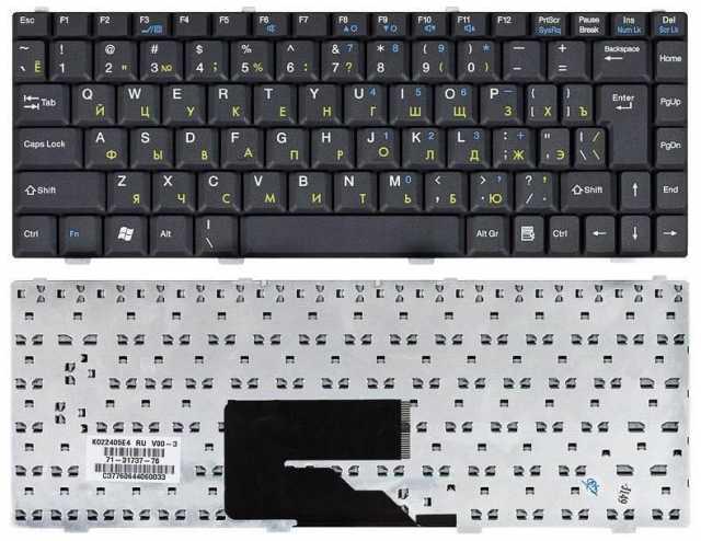 Продам Клавиатура MSI S260, S250 с рамкой