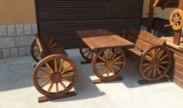 Продам Мебель для дачи из массива дерева