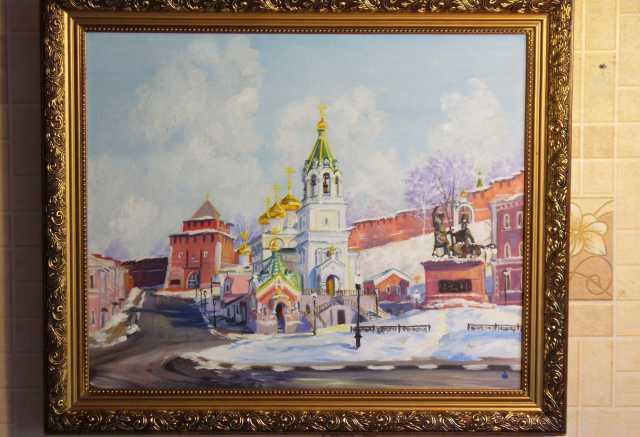 Продам картины с зимним нижним новгородом