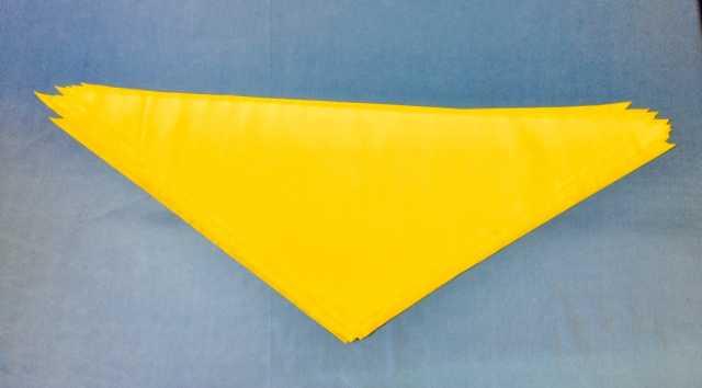 Продам: Желтые пионерские галстуки для детей