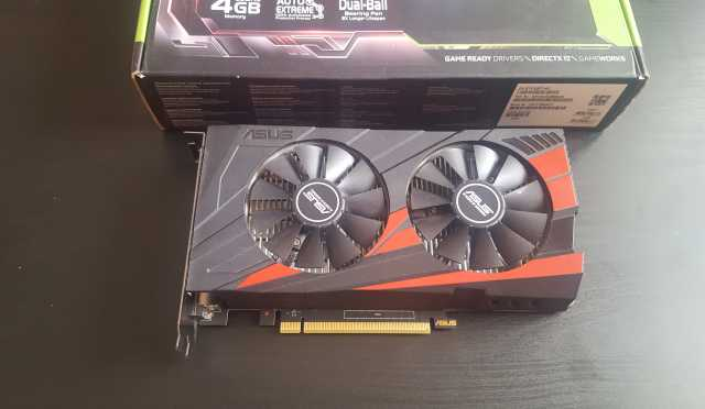 Продам Видеокарта Asus GeForce GTX 1050