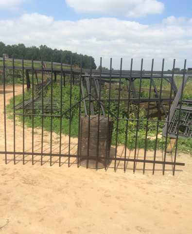 Продам Секции заборные из металлических прутьев