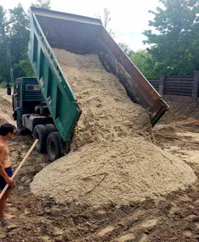 Продам Песок строительный с доставкой