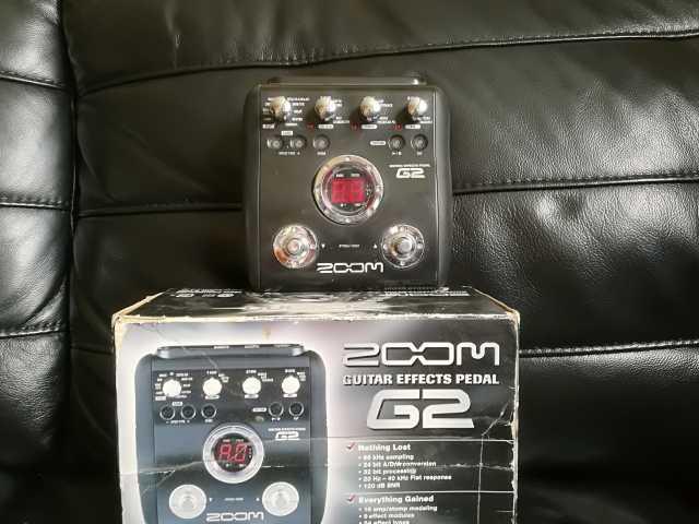 Продам Гитарный процессор Zoom G2