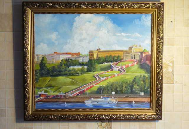 Продам Картина вид на чкаловскую лестницу