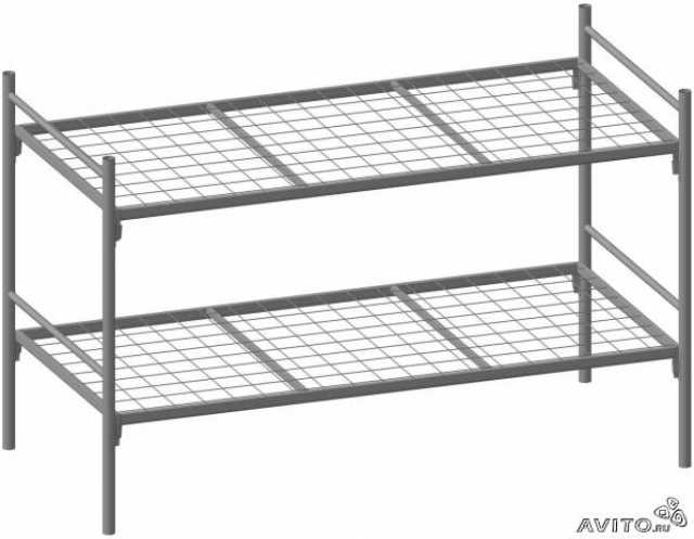 Продам: Кровать двухъярусная взрослая метал