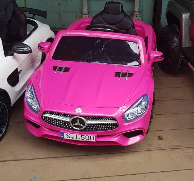 Предложение: Электромобиль детский Mercedes SL 500