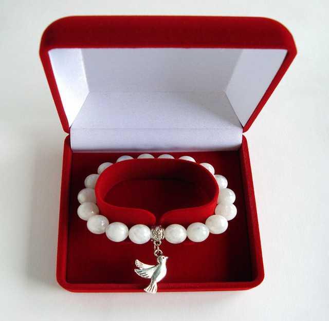 Продам Женский браслет из адуляра (лунный камен