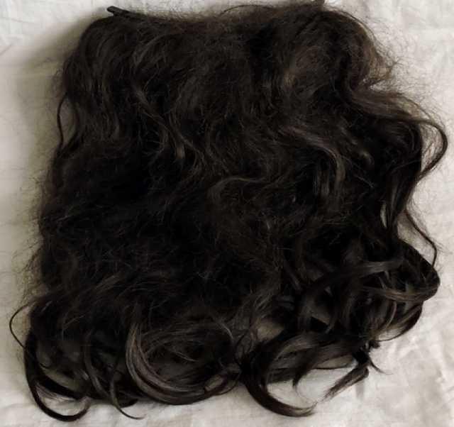 Продам Парик шиньон из натуральных волос.