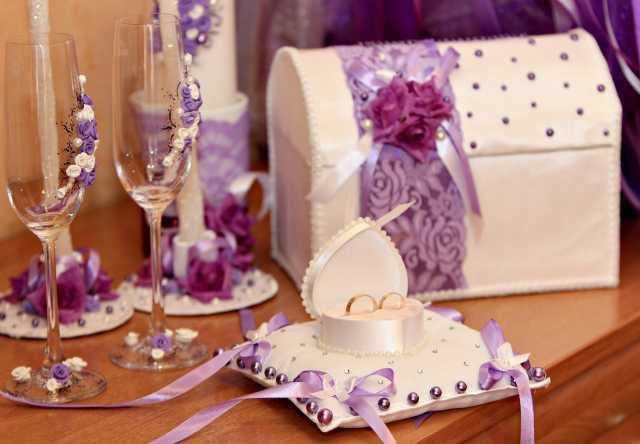 Предложение: Оформление свадебной посуды/аксессуаров