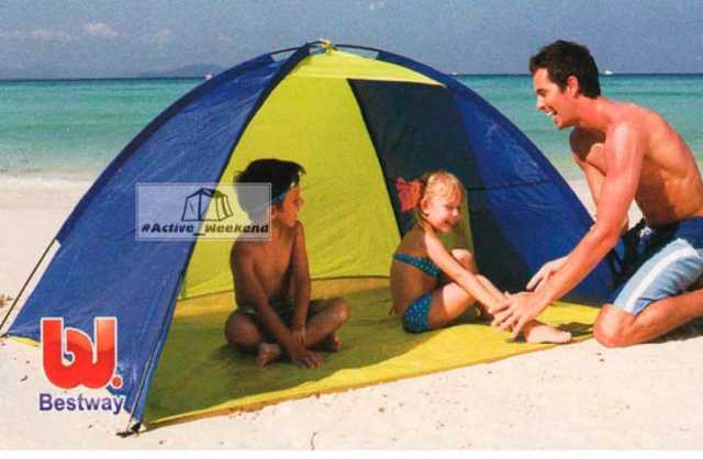 Продам Детская палатка тент пляжная от солнца 2