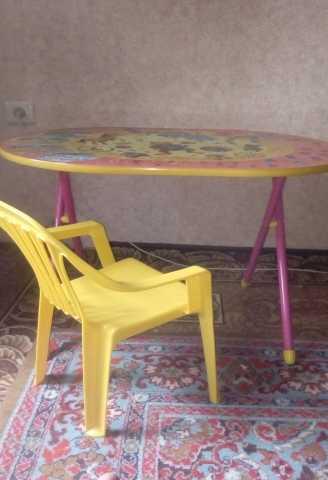 Продам Детский столик и стульчик