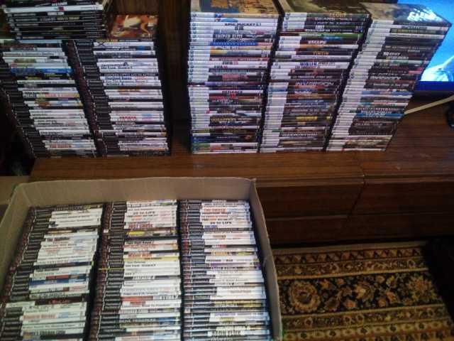 Продам Продам очень  много игр ps2.xbox 360 3.0