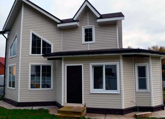 Предложение: Сайдинг под ключ, фасад дома и дачи
