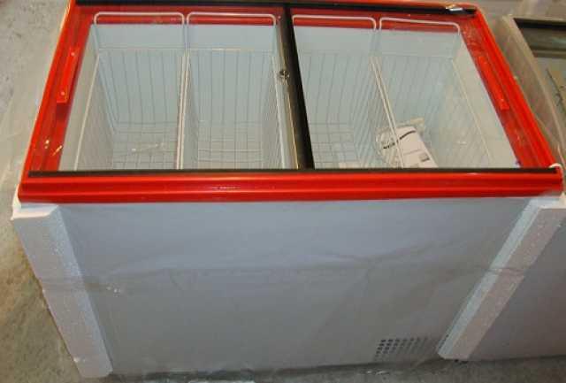 Продам Морозильный ларь с прямым стеклом НОВЫЙ