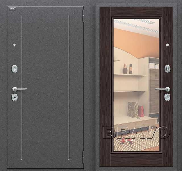 Продам Утепленную дверь с зеркалом