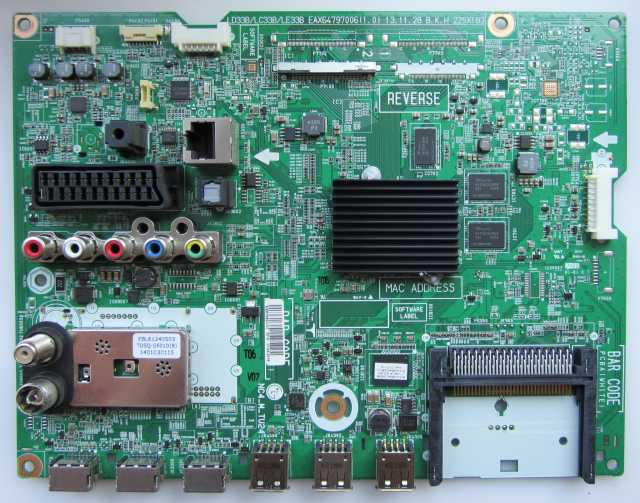 Продам Main Board EAX64797006(1.1) EBR76823172