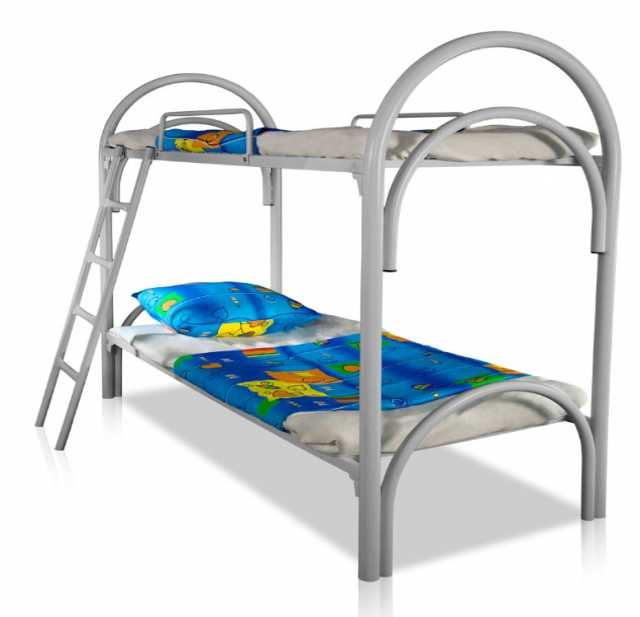 Продам: Одноярусные металлические кровати