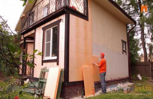Предложение: Утепление домов, коттеджей, квартир