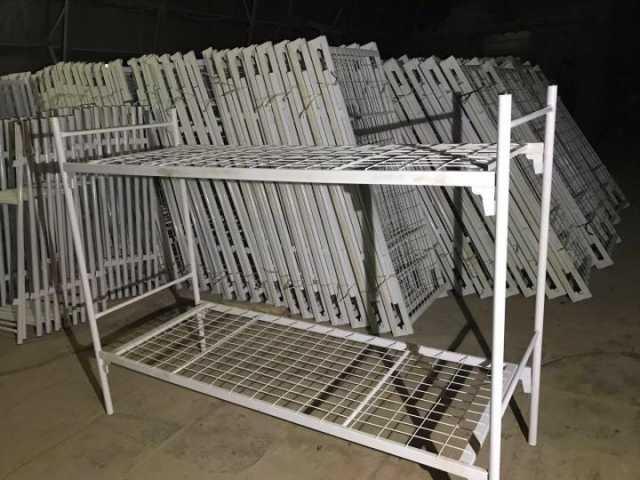Продам  Кровати для строителей, общежитий