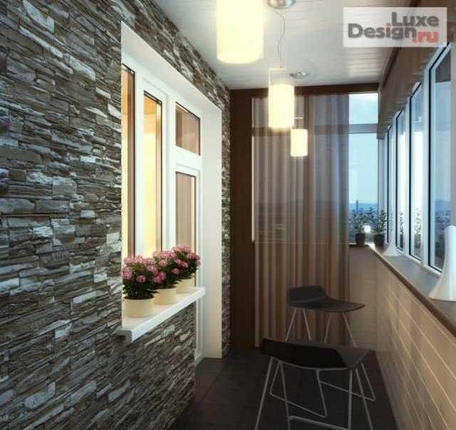 Предложение: отделка и утепление балконов и лоджий