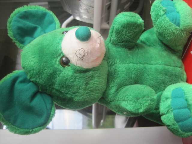 Продам Мышь зелёная большая оригинальная больша