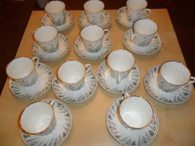 Продам Сервиз чайно-кофейный на 12 персон.ЛФЗ