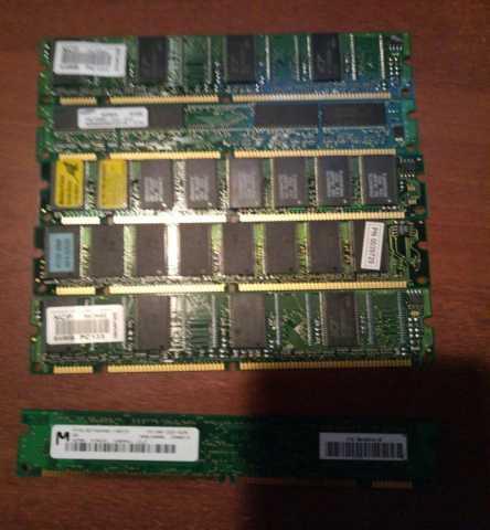 Продам  DDR sdram 256MB, 128MB, 64MB,32MB (для